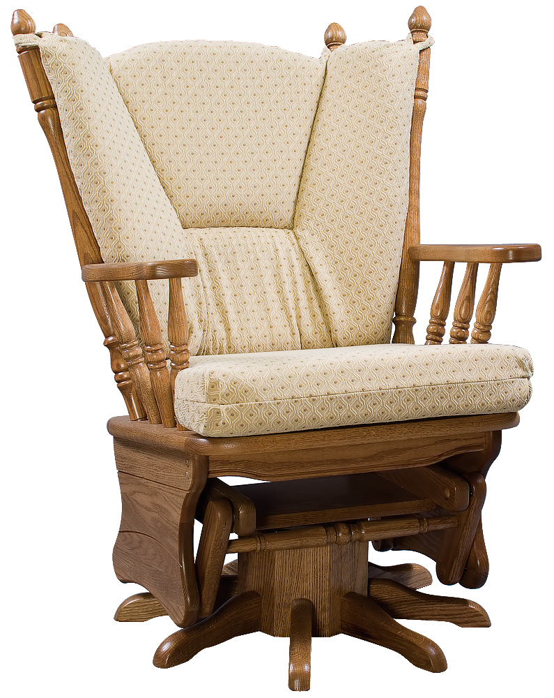 Four Post Swivel  Zimmerman Chair