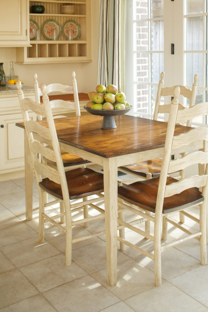 23 French Country Ladderback. American Heirloom Collection. Favorite. 23W.  See Our
