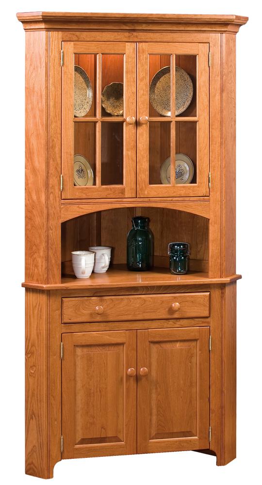 Ordinaire 880 Shaker Corner Cabinet